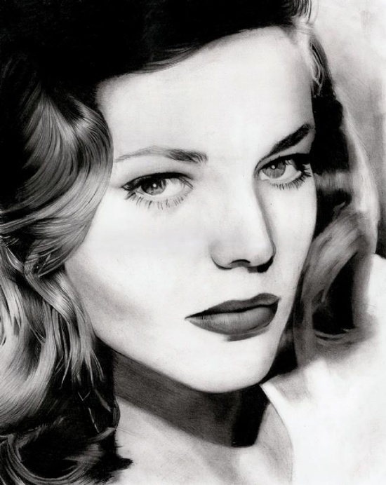 Lauren Bacall- Hollywood Golden Age